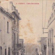 Postales: BARCELONA, PAPIOL CALLE BARCELONA. ED. SERIE OLIVÉ F.B Nº 6. ESCRITA. Lote 288398918