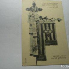 Postales: POSTAL SENYERA L´ORFEO GRACIENC -BANDERA CORAL -BARCELONA CM. Lote 288412948