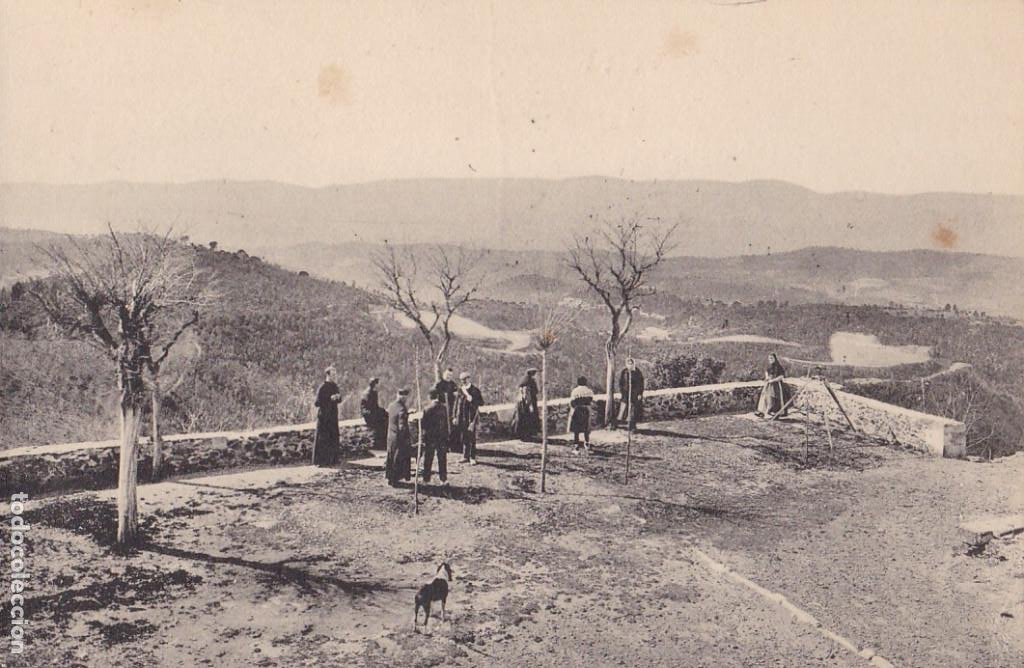 GIRONA, SANTUARI NTRA. SRA. DELS ANGELS, MIRANDA. ED. FOTO ROISIN Nº 10. SIN CIRCULAR (Postales - España - Cataluña Antigua (hasta 1939))