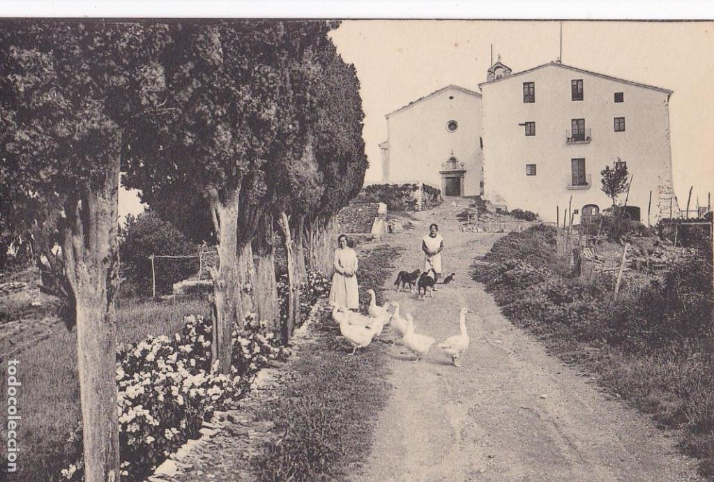 GIRONA, SANTUARI NTRA. SRA. DELS ANGELS. ED. FOTO ROISIN Nº 14. SIN CIRCULAR (Postales - España - Cataluña Antigua (hasta 1939))