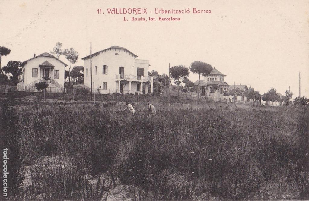 BARCELONA, VALLDOREIX URBANITZACIÓ BORRAS. ED. FOTO ROISIN Nº 11. SIN CIRCULAR (Postales - España - Cataluña Antigua (hasta 1939))