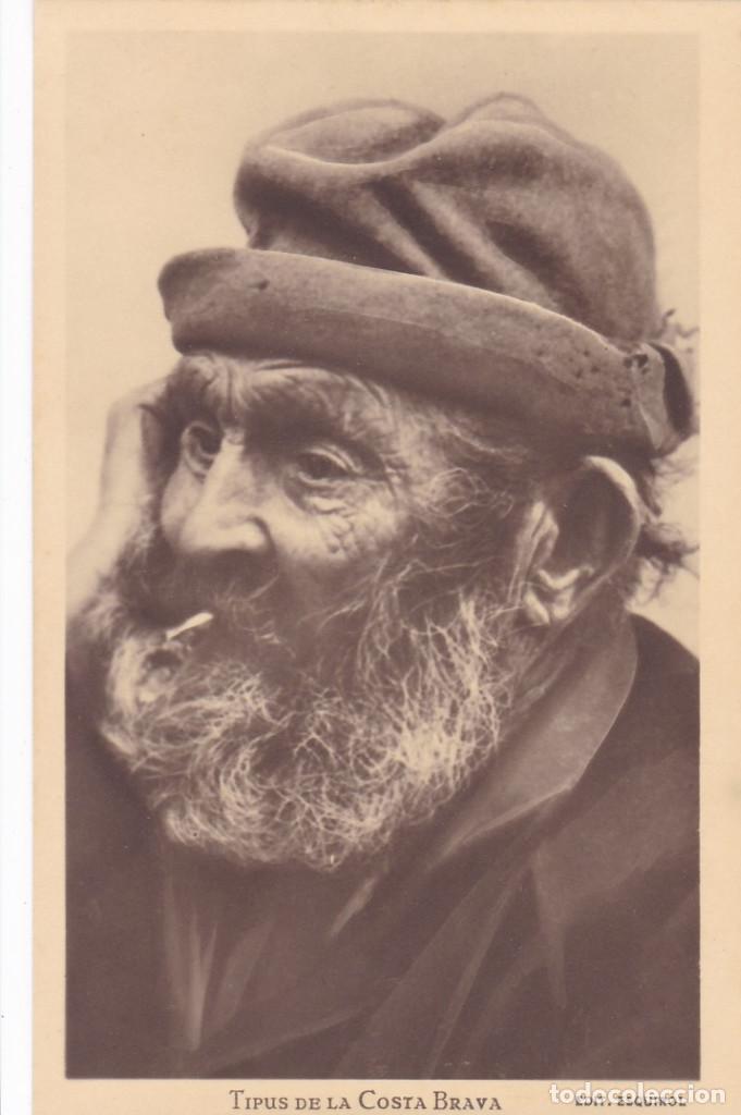 GIRONA, TIPUS DE LA COSTA BRAVA. ED. FOTO ESQUIROL. POSTAL FOTOGRAFICA SIN CIRCULAR (Postales - España - Cataluña Antigua (hasta 1939))