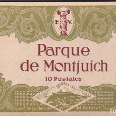 Postales: PARQUE DE MONTJUICH 10 POSTALES. EDICIONES VICTORIA. N. COLL SALIETI.. Lote 288531038