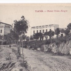 Postales: BARCELONA. TIANA HOTEL VISTA ALEGRE. ED. MAURI. SIN CIRCULAR. Lote 288531613