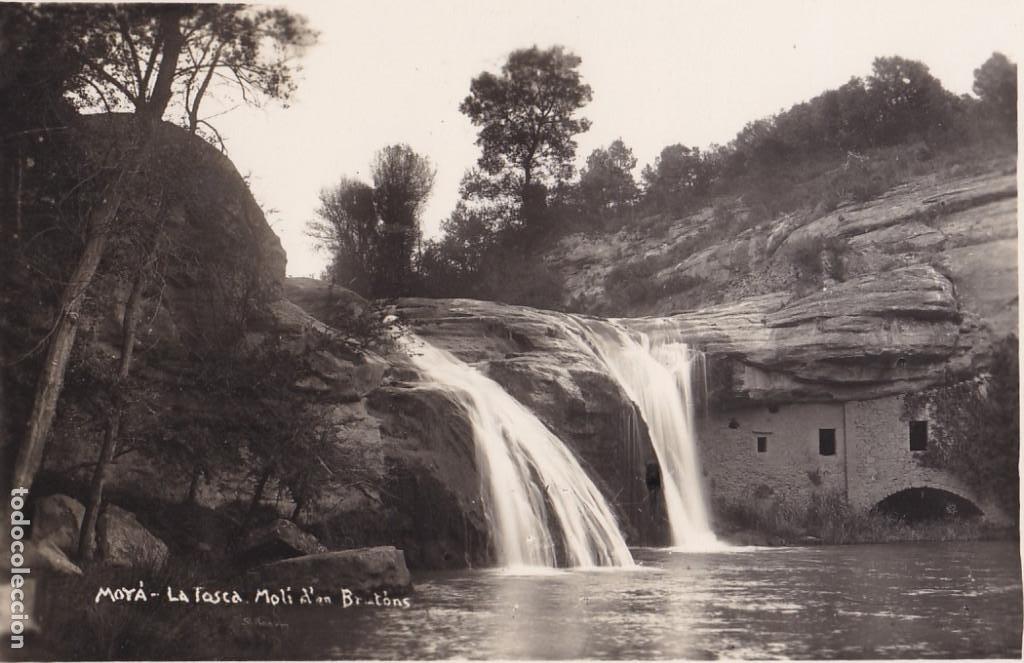 BARCELONA, MOYÁ LA TOSCA MOLI. FOTO S. RENOM. SIN CIRCULAR (Postales - España - Cataluña Antigua (hasta 1939))