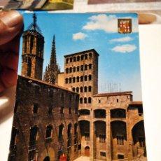 Postales: POSTAL BARCELONA PLAZA DEL REY. Lote 288565963