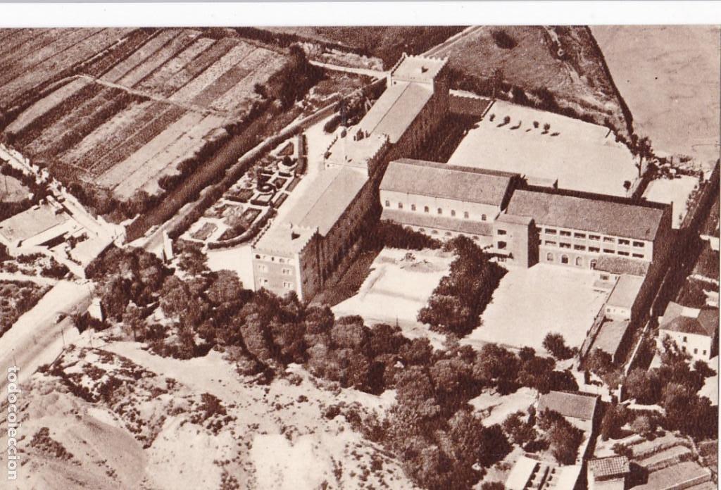 BARCELONA, COLEGIO SALESIANO JUAN BOSCO VISTA AEREA. SIN CIRCULAR (Postales - España - Cataluña Antigua (hasta 1939))