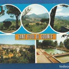 Postales: POSTAL SIN CIRCULAR SANT FELIU DE CODINES 2 BARCELONA EDITA ESCUDO DE ORO. Lote 288566968