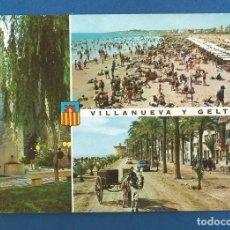Postales: POSTAL SIN CIRCULAR VILLANUEVA Y LA GELTRU 230 EDITA SALVAT. Lote 288593168