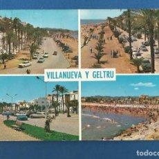 Postales: POSTAL CIRCULADA VILLANUEVA Y LA GELTRU 109 EDITA R.O. Lote 288593303