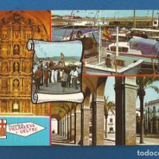 Postales: POSTAL SIN CIRCULAR VILLANUEVA Y LA GELTRU 1001 EDITA PERGAMINO. Lote 288593423