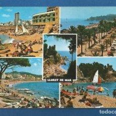 Postales: POSTAL CIRCULADA LLORET DE MAR 838 COSTA BRAVA EDITA FABREGAT. Lote 288595003