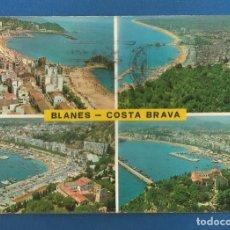 Postales: POSTAL CIRCULADA BLANES 142 COSTA BRAVA EDITA POSTALES MARTINEZ. Lote 288595123