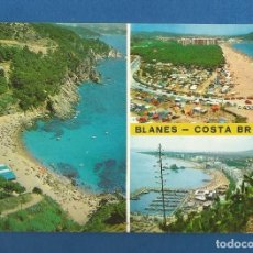 Postales: POSTAL CIRCULADA BLANES 144 COSTA BRAVA EDITA POSTALES MARTINEZ. Lote 288596053