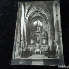 Postales: SANTAS CREUS ALTAR MAYOR FOT. A. CAMPAÑA SERIE 1 Nº 848. Lote 288660318
