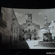 Postales: MONASTERIO DE SANTES CREUS,PLAZA DE SAN BERNARDO, FOTO RAYMOND. Lote 288660688