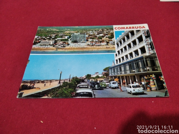 POSTAL COMARRUGA PLAYA, HOTEL (Postales - España - Cataluña Moderna (desde 1940))