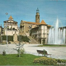 Postales: [POSTAL] PLAÇA D'ESPANYA I FONT MONUMENTAL. MANLLEU (BARCELONA) (SIN CIRCULAR). Lote 288663858