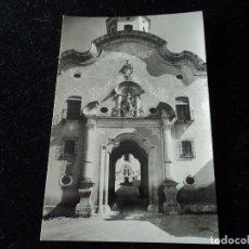 Postales: SANTAS CREUS ENTRADA A LA PLAZA DE SAN BERNARDO, SERIE 1 Nº 849 FOT. A. CAMPÀÑA. Lote 288666308