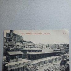 """Postales: POSTAL ANTIGÜA DE MANRESA """"ESTACIÓN DEL F.C. DEL NORTE"""" N. 16 DE FOTOTIPIA THOMAS. Lote 288687433"""