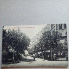 """Postales: POSTAL ANTIGÜA DE MANRESA """" PASEO Y PARQUE DE LA SEO"""" N. 14 DE FOTOTIPIA THOMAS. Lote 288692723"""