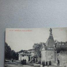 "Postales: POSTAL ANTIGÜA DE MANRESA "" FUENTE DE NEPTUNO"" N. 40 DE FOTOTIPIA THOMAS. Lote 288693888"