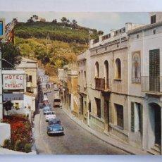 Cartes Postales: CALDES D'ESTRAC / CALDETES - CARRETERA DE BARCELONA - P64098. Lote 288709953