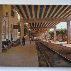 Cartes Postales: CALDES D'ESTRAC / CALDETES - ESTACIÓ / ESTACIÓN DEL FERROCARRIL - P64099. Lote 288710158
