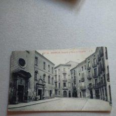 "Postales: POSTAL ANTIGÜA DE MANRESA "" HOSPITAL Y PLAZA DEL HOSPITAL"" N. 38 DE FOTOTIPIA THOMAS. Lote 288713923"