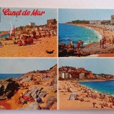 Postales: CANET DE MAR - VISTES / VISTAS - P64103. Lote 288714853