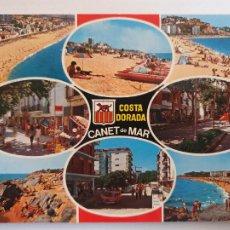 Postales: CANET DE MAR - VISTES / VISTAS - P64106. Lote 288714918