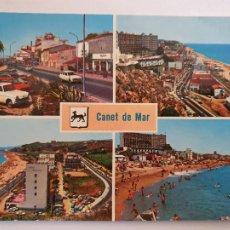 Postales: CANET DE MAR - VISTES / VISTAS - P64108. Lote 288715013