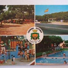 Postales: CANET DE MAR - CAMPING VICTORIA - P64109. Lote 288715213