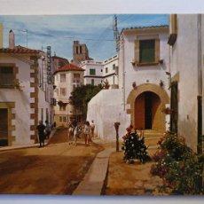 Postales: SANT POL DE MAR - CARRER ABAT DEAS / CALLE - P64156. Lote 288723123