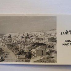 Postales: SANT POL DE MAR - NEVADA - BON NADAL - 14 X 8 CM. - P64157. Lote 288723373