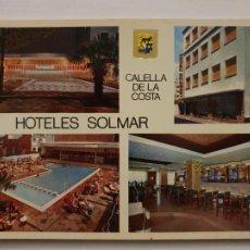 Cartes Postales: CALELLA - HOTELES SOLMAR - P64276. Lote 288914673