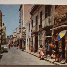 Cartes Postales: MALGRAT DE MAR - CARRER DE MAR / VÍA CAUDILLO - P64351. Lote 288926548