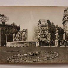 Cartes Postales: BARCELONA - RELLOTGE FLORAL DE LA PLAÇA CATALUNYA / RELOJ FLORAL PLAZA CATALUÑA - P64762. Lote 289020663