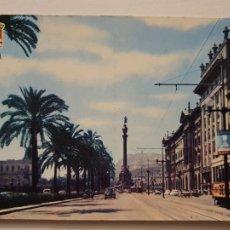 Cartes Postales: BARCELONA - PASEO COLÓN / PASSEIG COLOM - TRAMVIA / TRANVÍA - P64763. Lote 289020758