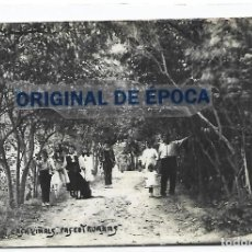 Postales: (PS-66345)POSTAL FOTOGRAFICA DE SENTMENAT-CASA VIÑALS.PASEO TRUANAS.MOZO DE ESCUADRA. Lote 289232463