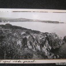 Postales: S'AGARO-VISTA GENERAL-FOTO PEGADA-ARCHIVO ROISIN-FOTOGRAFICA-POSTAL PROTOTIPO-(84.126). Lote 289353033