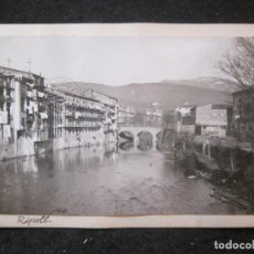 Postales: RIPOLL-VISTA PARCIAL-PUENTE-FOTO PEGADA-ARCHIVO ROISIN-FOTOGRAFICA-POSTAL PROTOTIPO-(84.129). Lote 289353283