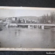 Postales: RIPOLL-RIO TER-PUENTE-FOTO PEGADA-ARCHIVO ROISIN-FOTOGRAFICA-POSTAL PROTOTIPO-(84.130). Lote 289353343