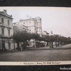 Postales: LLORET DE MAR-PASSEIG VERDAGUER-FOTO PEGADA-ARCHIVO ROISIN-FOTOGRAFICA-POSTAL PROTOTIPO-(84.136). Lote 289353888