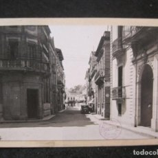 Postales: LLORET DE MAR-RAMBLA-FOTO PEGADA-ARCHIVO ROISIN-FOTOGRAFICA-POSTAL PROTOTIPO-(84.137). Lote 289353963