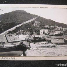Postales: PALAFRUGELL-FOTO PEGADA-ARCHIVO ROISIN-FOTOGRAFICA-POSTAL PROTOTIPO-(84.139). Lote 289354063