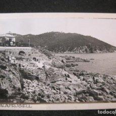 Postales: PALAFRUGELL-FOTO PEGADA-ARCHIVO ROISIN-FOTOGRAFICA-POSTAL PROTOTIPO-(84.140). Lote 289354108