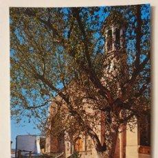 Postales: LLANÇÀ - ESGLÉSIA I PLAÇA MAJOR / IGLESIA Y PLAZA MAYOR - BUZÓN DE CORREOS - P65271. Lote 289501328