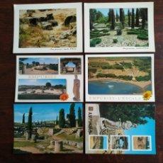 Postales: UNA POSTAL DE AMPURIAS VISTAS RUINAS GRECO ROMANAS EN LA COSTA BRAVA DE GIRONA 6 TARJETAS A ELEGIR. Lote 289502528