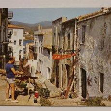 Postales: LLANÇÀ - EL PINTOR J. MARTÍNEZ LOZANO EN SU ESTUDIO - CARRER / CALLE - P65281. Lote 289502763